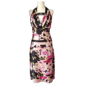 JS COLLECTIONS Floral Halter Dress NWT 6
